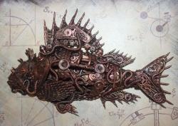 Биомеханическая рыба